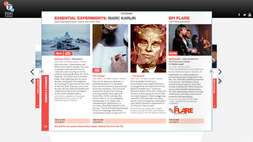 Essential Experiemnts BFI april 2